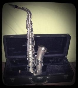 Beuscher Silver Saxophone