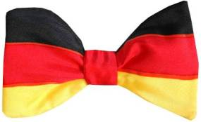 German Flag Bow Tie