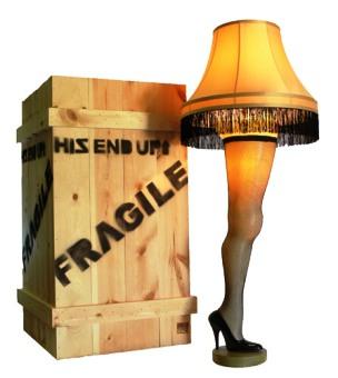 Its A Major Award Leg Lamp A Christmas Story