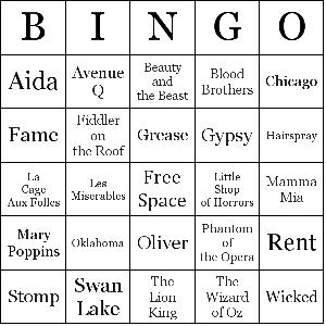 Famous-Musicals-bingo