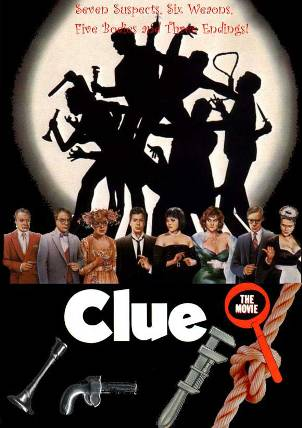 Clue movie poster