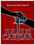 julius caesar play poster