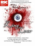 king lear play poster