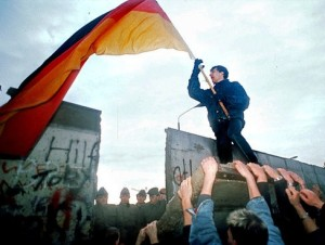German Flag Fall of the Wall