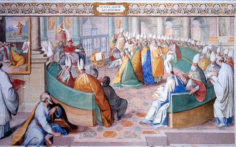 Council of Nicea Sistine Chapel