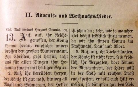 Luther Gesangbuch Advent und Weinachts_Lieder