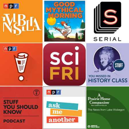 Podcasts Dec 2014