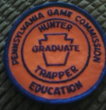 PA hunter-trapper patch