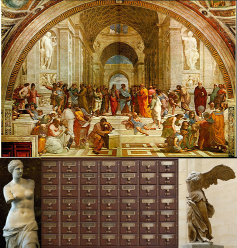 Memory Library Card Catalogue