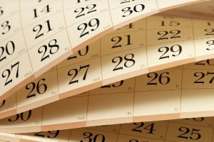 Turning Calendar Pages