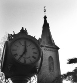 Clock and Steeple