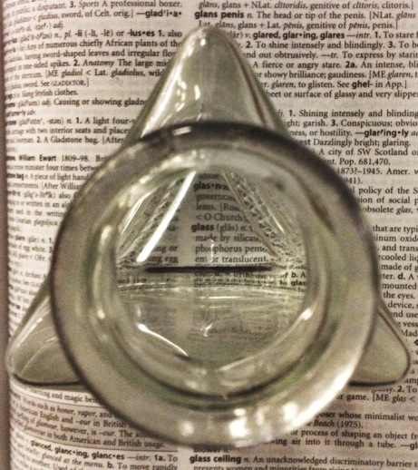 Bottle Dictionary Glass