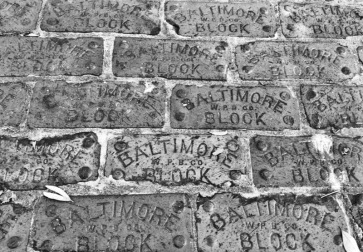 Baltimore Bricks (B&W)