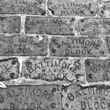 Baltimore Bricks (B&W)