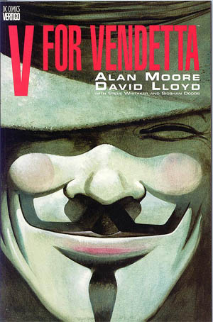 V for Vendetta book cover