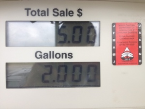 OCD at the Gas Pump