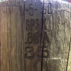 Telephone Pole Stamp