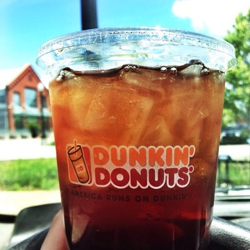 Dunkin Donuts Sweet Iced Tea
