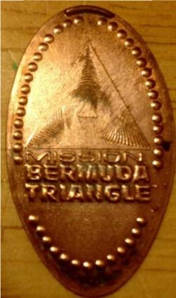 MIssion Bermuda Trianlge Squihed Penny