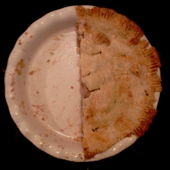 Apple Pie Half Gone