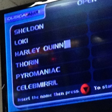 Bowling with Nicknames