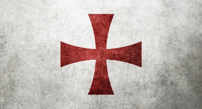 Distressed Templar Cross