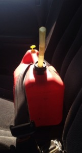 Gas Can Buckled