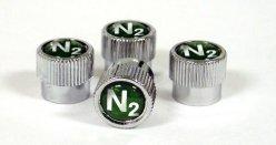 nitrogen tire valve caps