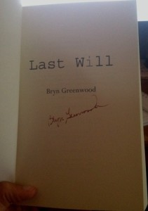 signed last will bryn greenwood