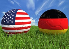 USA v Germany Women's World Cup