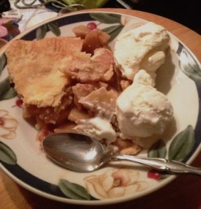 Apple Pie and Vanilla Ice Cream