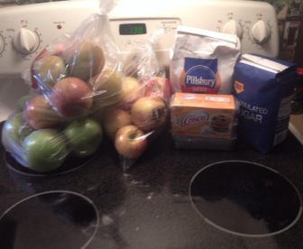 Apple Pie Ingredients