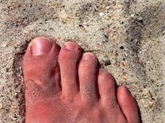 Atlantic Beach Sand and Foot