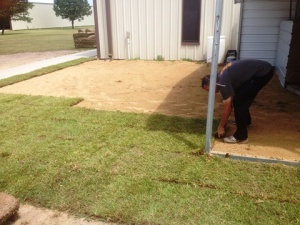 laying sod 1