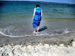 Mom at Atlantic Beach 1