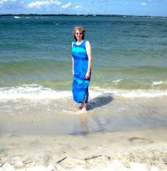 Mom at Atlantic Beach 2
