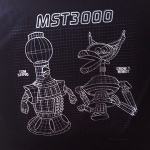 MST3K shirt detail