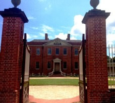 Tryon Palace exterior 28 July 2015