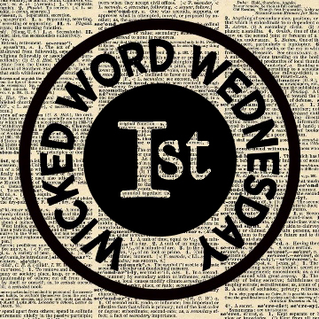 Wicked Word Wednesday First Place Badge