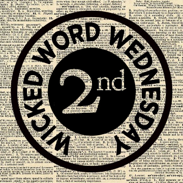 Wicked Word Wednesday Second Place Badge