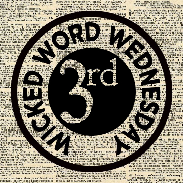 Wicked Word Wednesday Third Place Badge