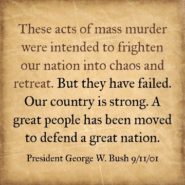 George W Bush Quote