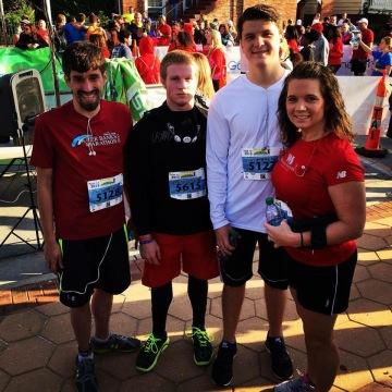 Bridge Run 2015 5k group