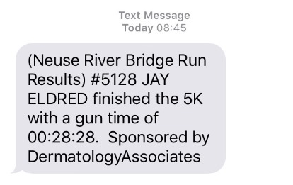 Bridge Run 5k Results