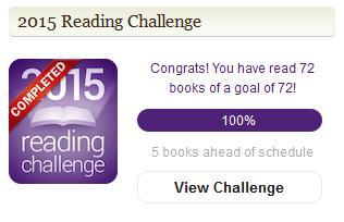 2015 Goodreads Challenge Complete