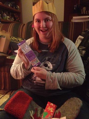 Bookmarks Stocking Christmas 2015