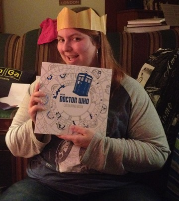 Doctor Who Colouring Book Christmas 2015