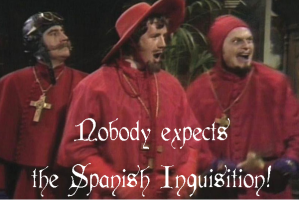Monty Python Spanish Inquisition Quote