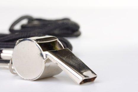 CRS metal basketball whistle