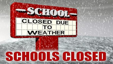 School Closed Weather